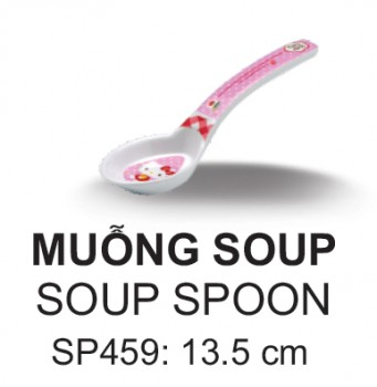 SP459 Muỗng Soup Nhỏ Hello Kitty  - SPW